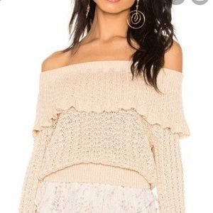 Free people crazy in love sweater med new 🌟🌟